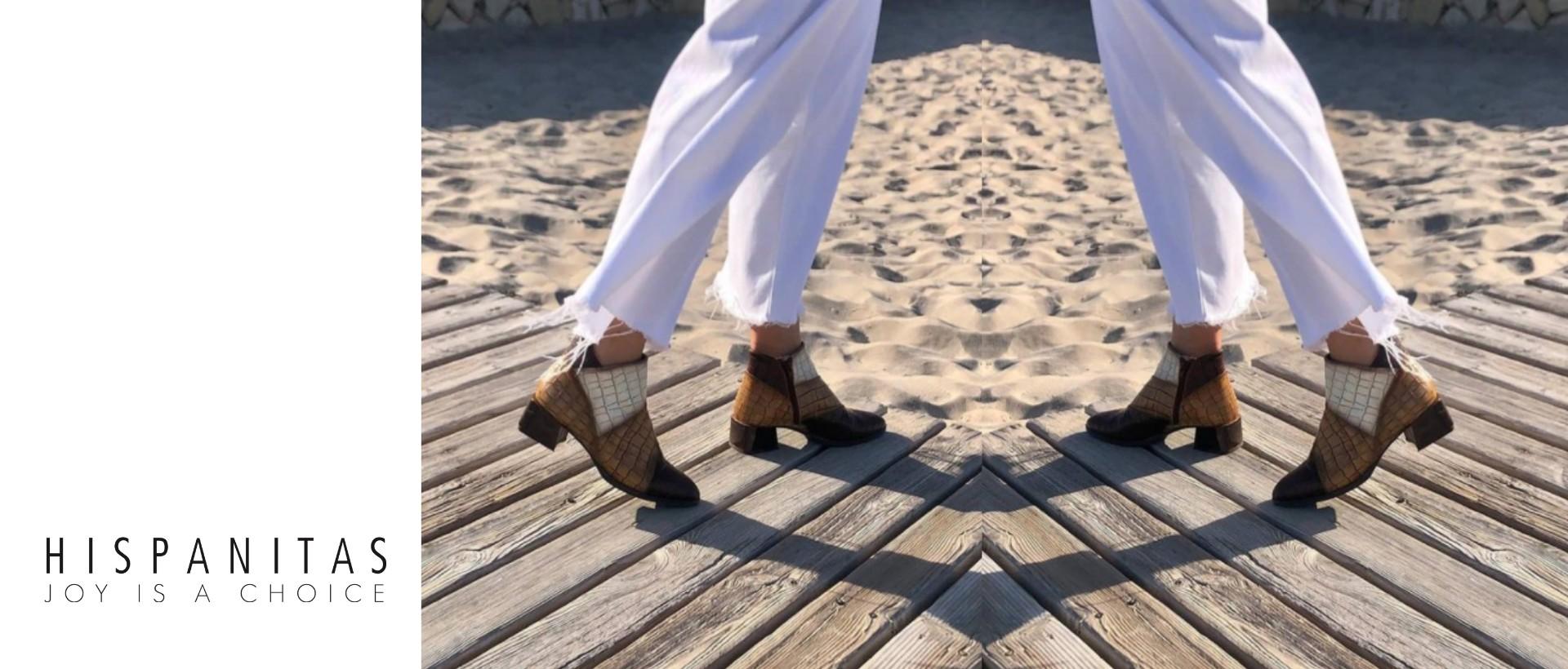 Hisoanitas mulher | Botas mulher Hispanitas | Calçado Espanhol Mulher